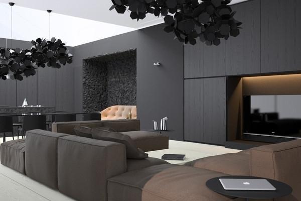 2017 minimalism meets sober patterns in modern apartment crimea