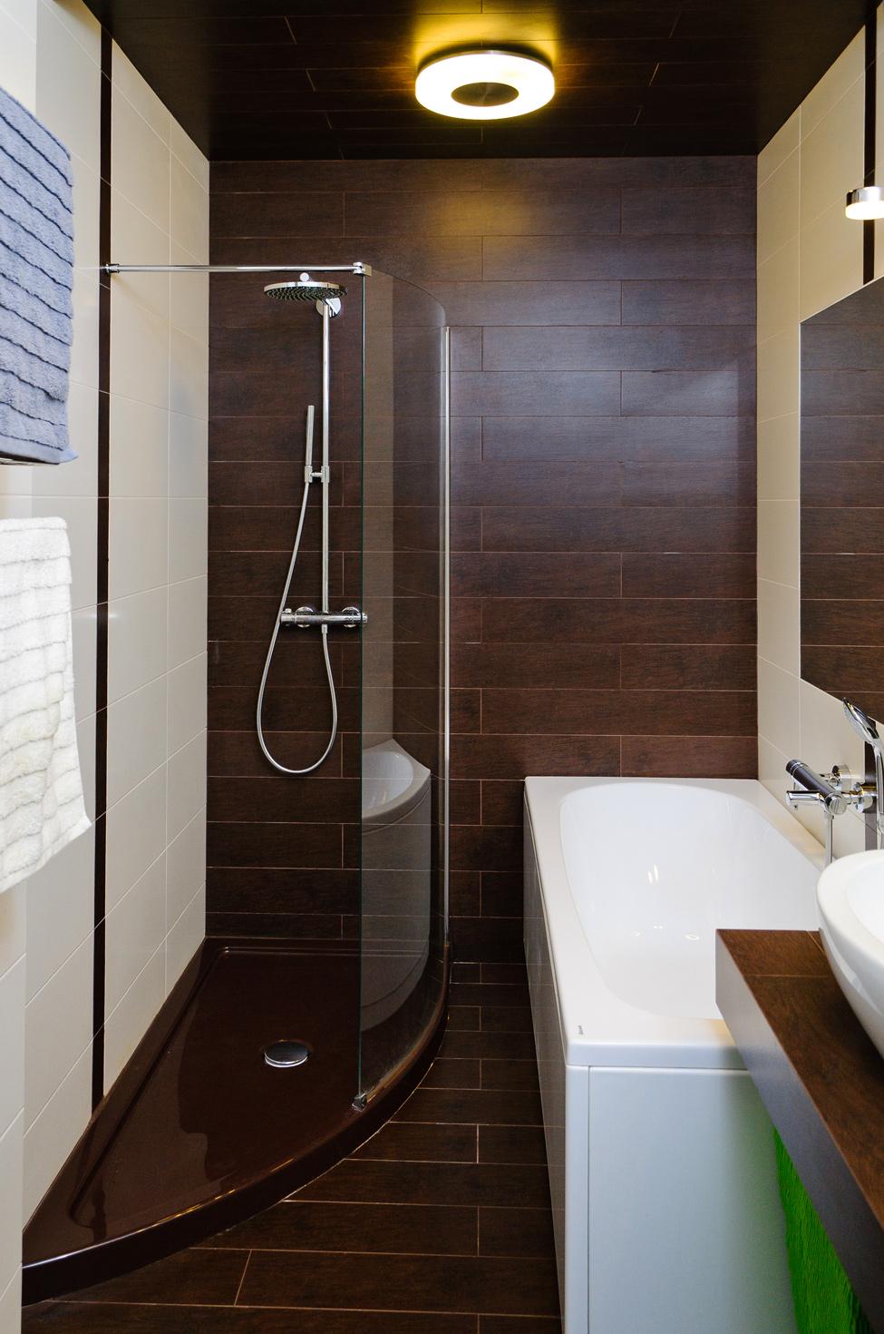 Интерьер ванной с душевой кабиной 4 кв м фото