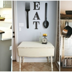 Organization ideas for small kitchens
