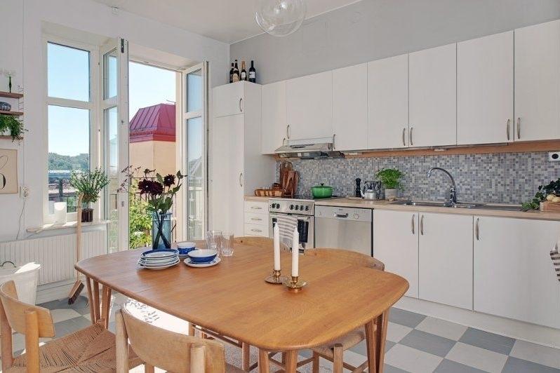 Дизайн кухни на 15 квадратных метров