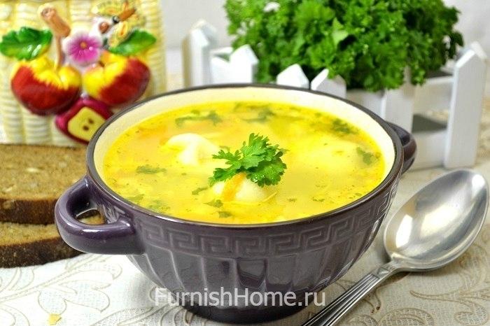Суп пельменями картошкой