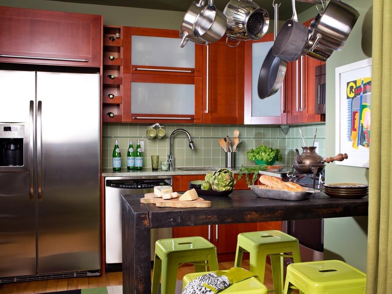 Muebles en una cocina pequeña