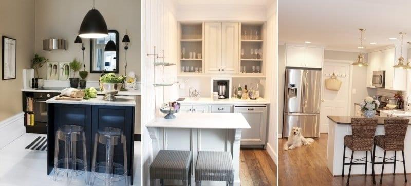 Möbel für eine kleine Küche