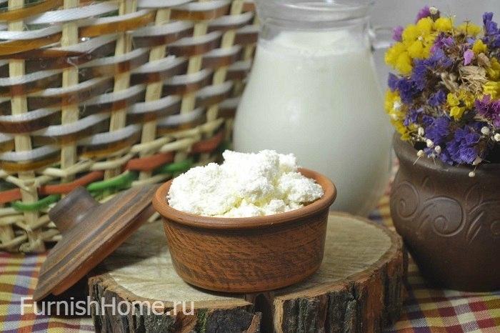 Домашний творог из кислого молока рецепт с пошагово
