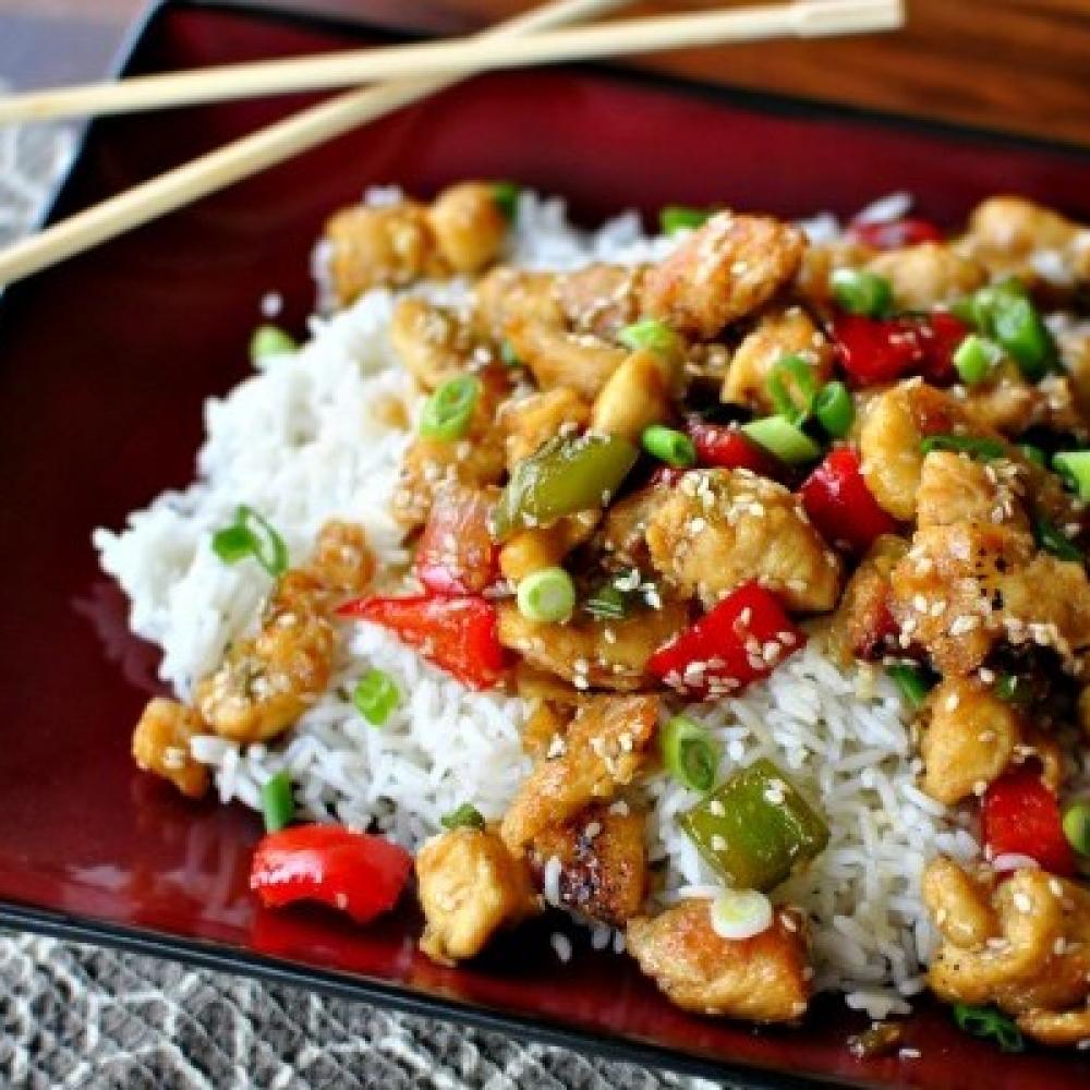 Курица с рисом по-восточному