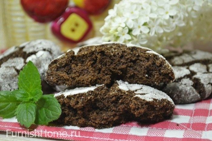 Печенье «Шоколадные трещинки»