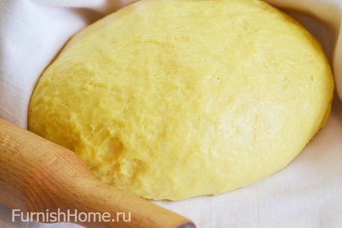 Сдобное дрожжевое тесто на пирожки
