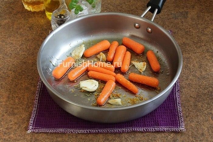 Морковь с апельсинами