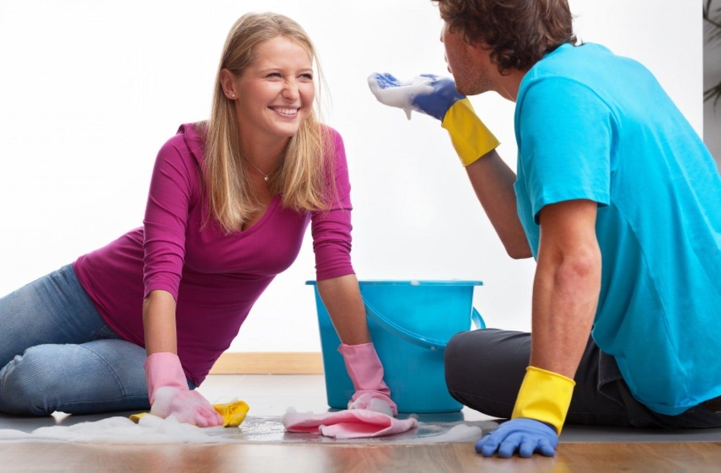 Как заставить своего мужа помогать вам по дому