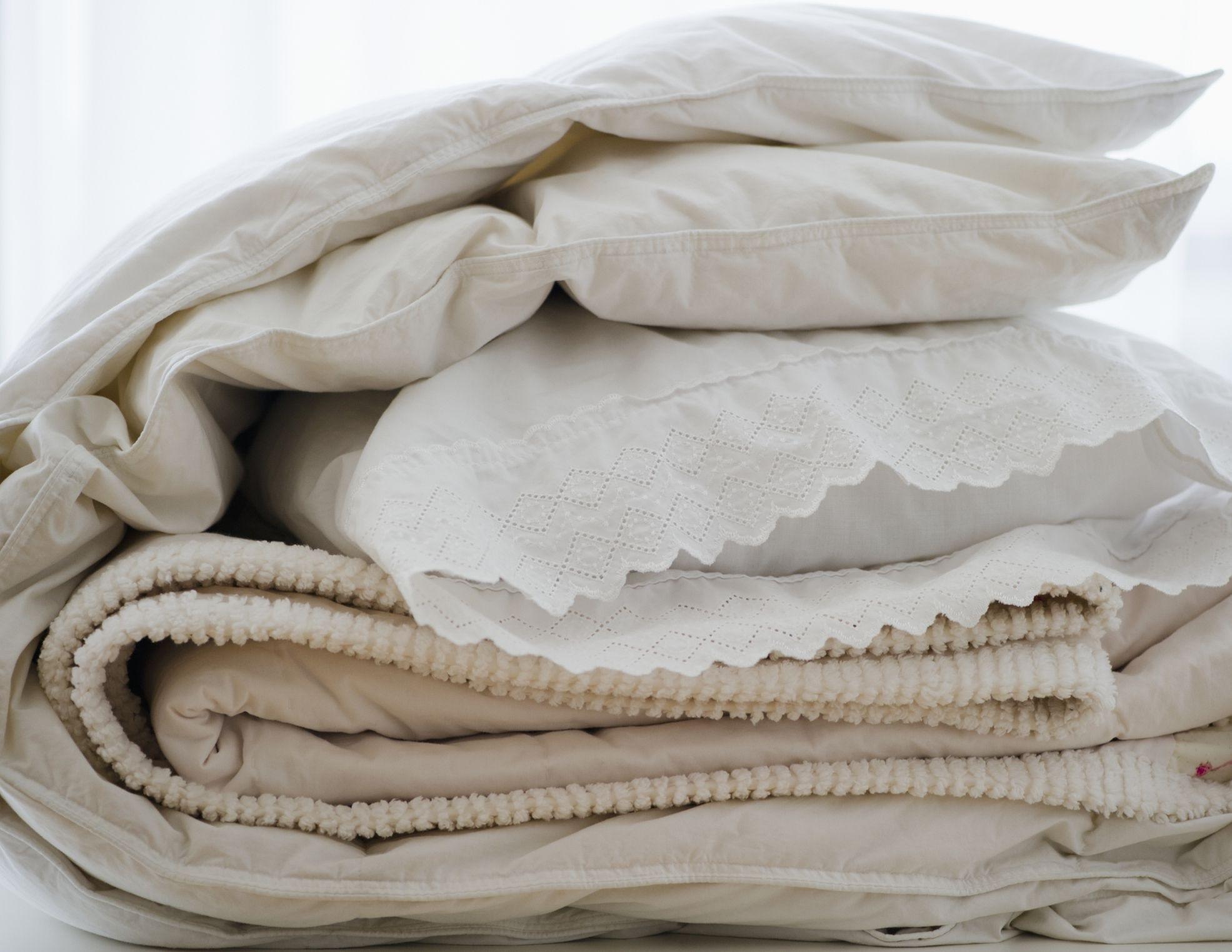 Хранить текстиль группами