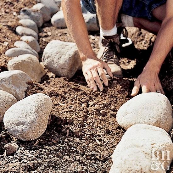 Как сделать дорожку из гравия своими руками