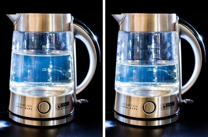 Кипятить полный воды чайник