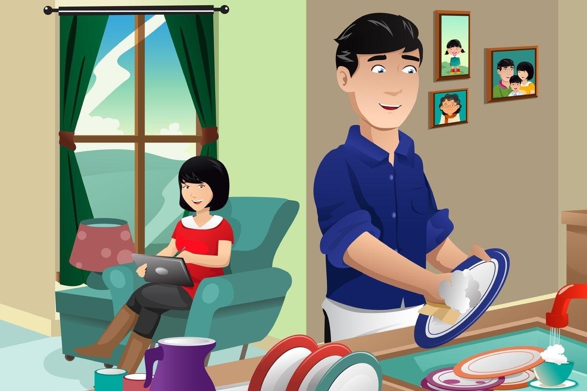 Как переложить уборку на мужчину: 6 действенных способов