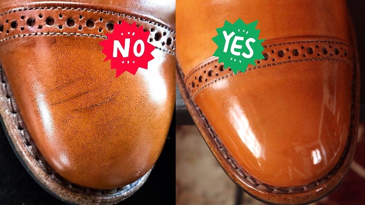 Как убрать царапины на обуви: спасаем любимую пару