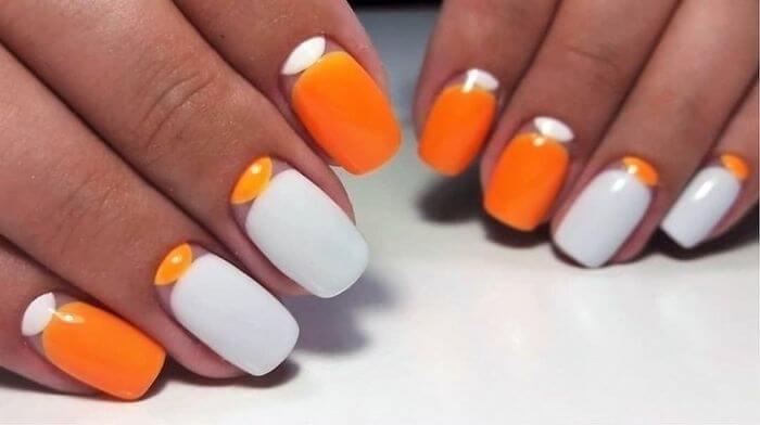 Пошаговая инструкция маникюра с изображением апельсина: гайд с фото, новые идеи 2021