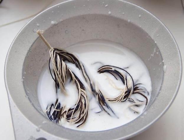 Оригинальные украшения: перья из остатков джинсовой ткани. Пошаговый мастер-класс с фото