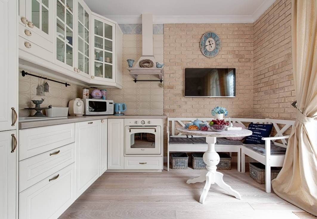 Дизайн кухни с диваном 12 кв. м: современные идеи и рекомендации