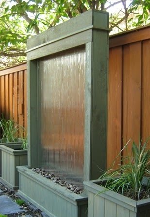 Водяная стена для приусадебного участка (мастер-класс)