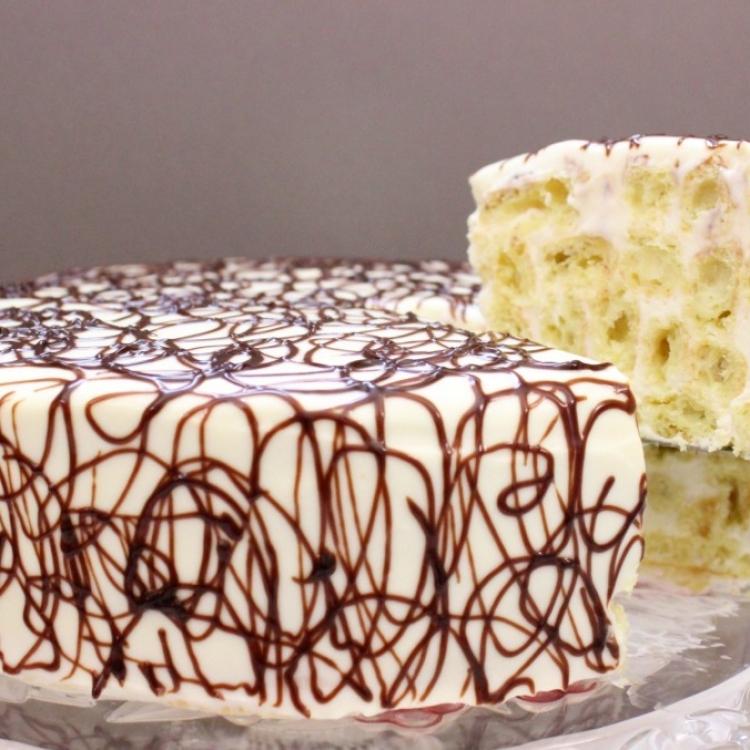 Фото рецепт торт дамские пальчики