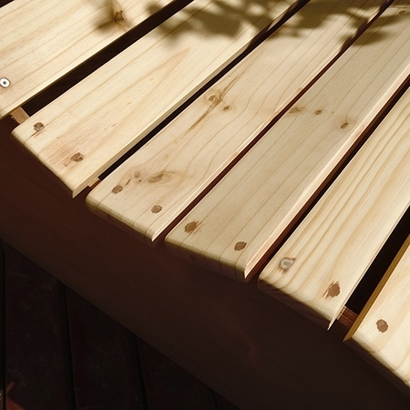 Садовый диван из сосновых досок: мастер-класс