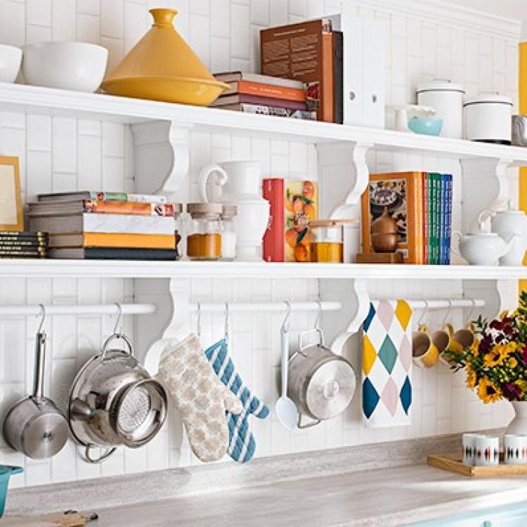 Дизайн полочек для кухни