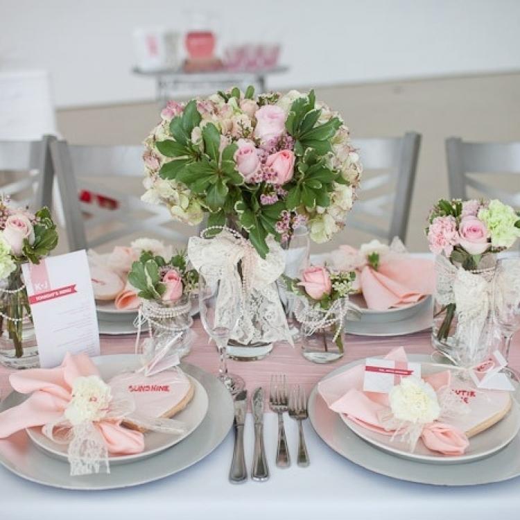 Идеи украшения свадебных столов своими руками