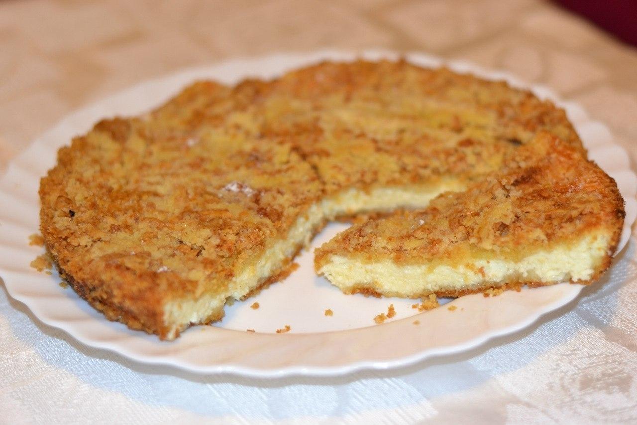 Пошаговое фото рецепт королевской ватрушки
