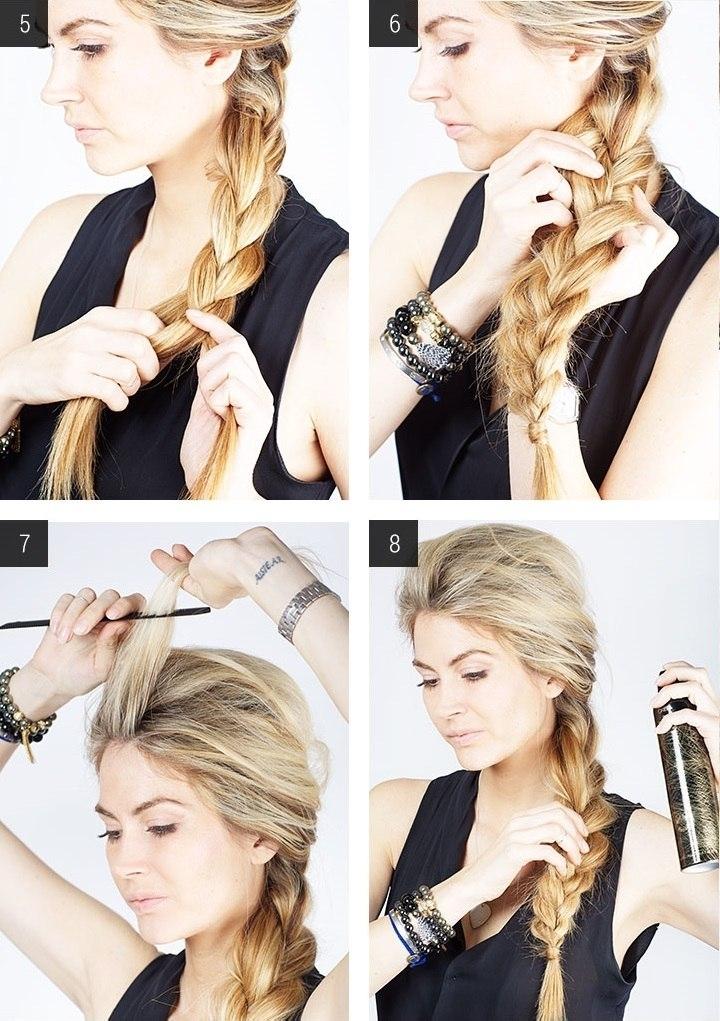 Как сделать одну объемную косу 25
